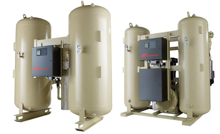 Heatless Heated Desiccated Dryer