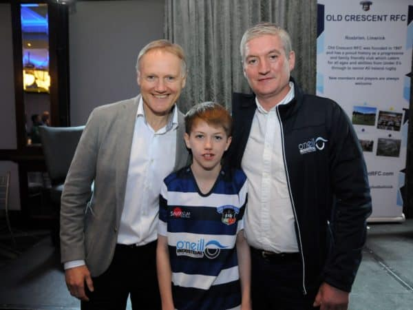 Joe Schmidt with Austin O'Neill, O'Neill Industrial