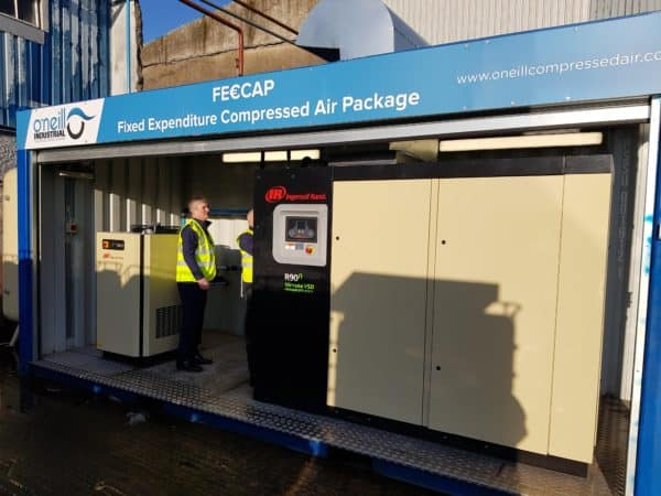 Containerised Compressed Air Room