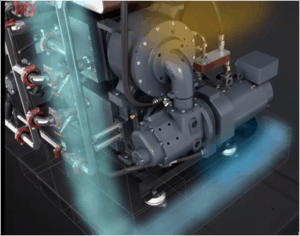 Ingersoll Rand E-Series Oil-Free VSD Air Compressor