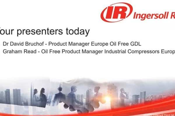 Webinar with Ingersoll Rand